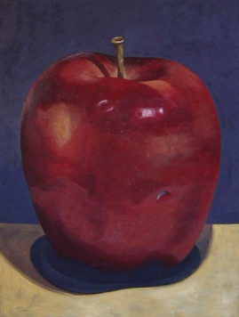 "SOLD - The Big Apple. 2004. acrylic on canvas. 30"" x 40"""
